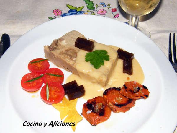 0 Pastel de boletus con salsa ligera de queso y gelee de Pedro Ximenez 1 (3)