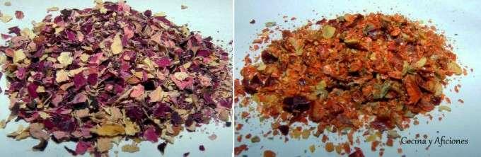 0 rosa y guindilla molidas
