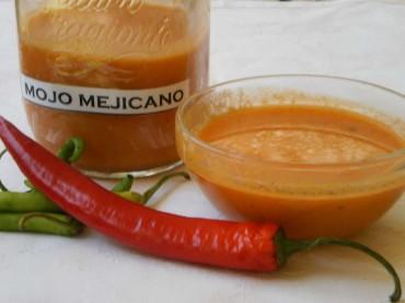 Salsa fresca mejicana, receta