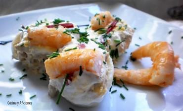 Huevos rellenos, receta