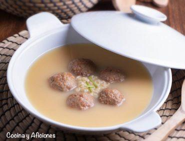 Sopa sefardí de carne, receta súper deliciosa