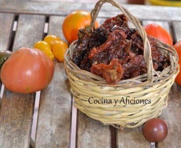 Tomates secos, apuntes y técnica de cocina para prepararlos a tu gusto.