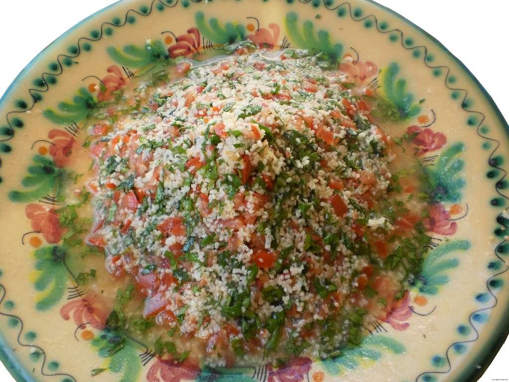 Ensalada de perejil – Tabbouleh,  receta