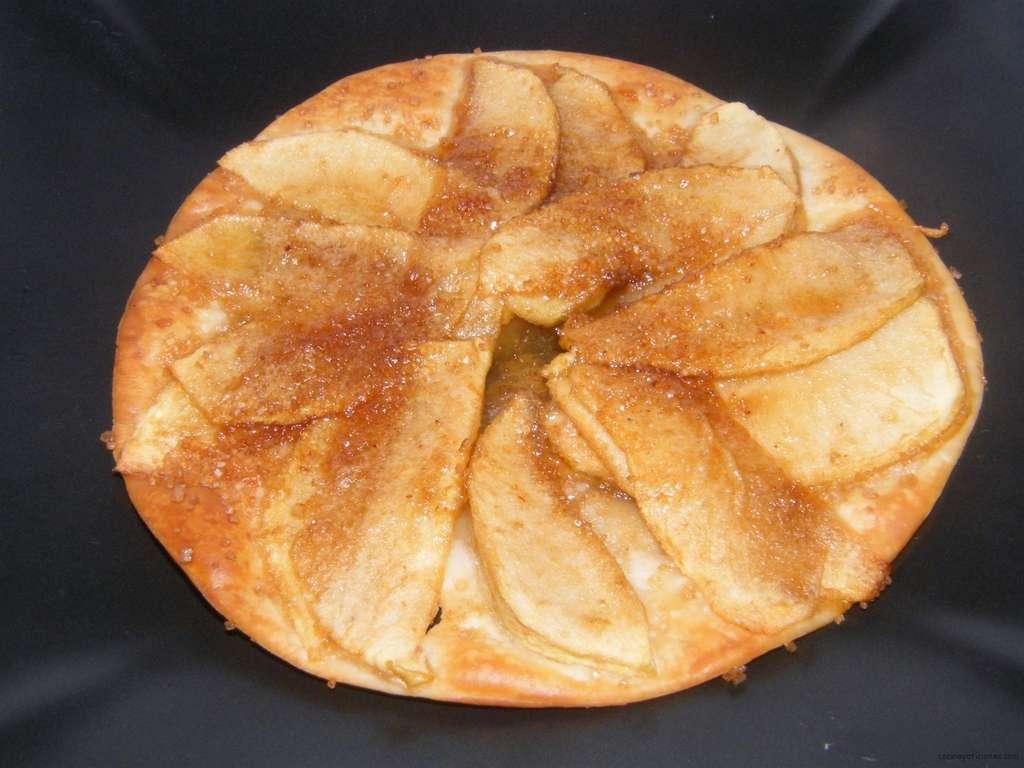 Tartita de manzana, receta