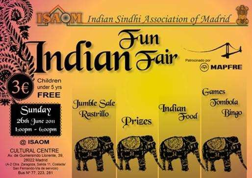 INDIAN FUN FAIR 2011..FERIA CULTURAL DE LA INDIA