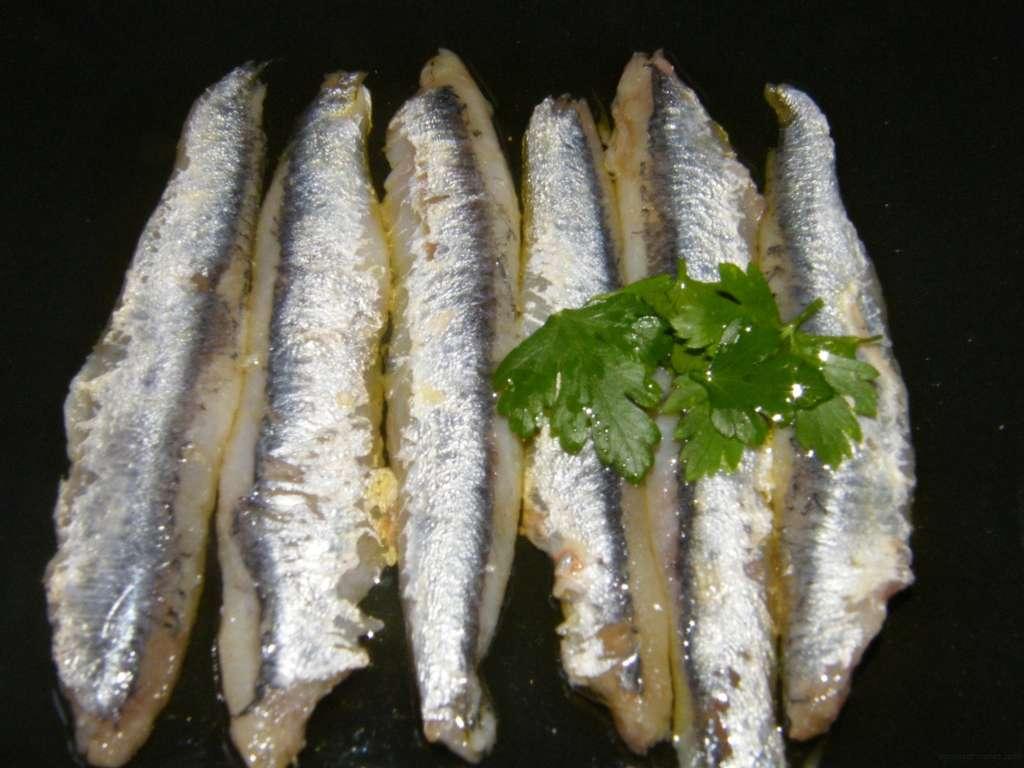 Anchoas marinadas con la receta de Martín Berasategui