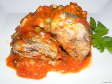 """Caballas al estilo """"Caucci"""" (Isla de Malta), receta"""