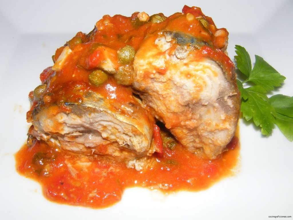 Caballas al estilo «Caucci» (Isla de Malta), receta