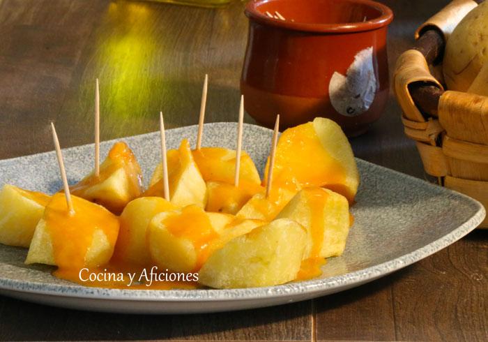 Cocinar Patatas Bravas   Patatas Bravas Al Estilo Madrileno La Receta Tradicional Paso A