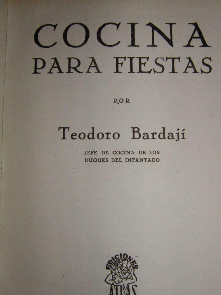 Cocina para fiestas de teodoro bardaji cocina y aficiones for Cocina para fiestas