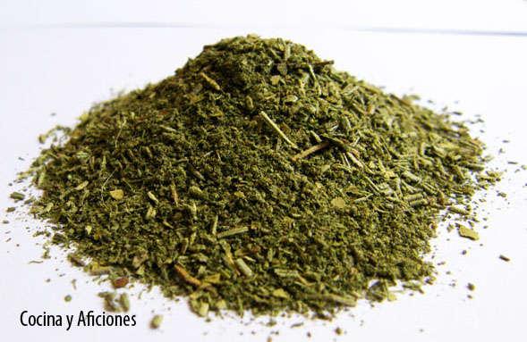 Las hierbas provenzales o finas hierbas.