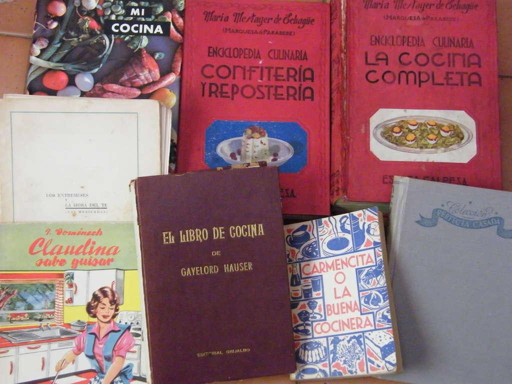 mis libros de recetas clasicos