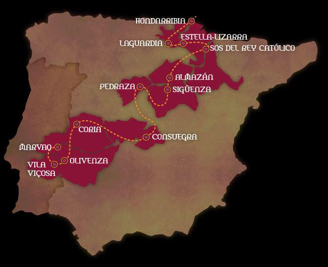 """La """"Red de Ciudades y Villas Medievales"""""""