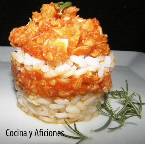 Pastel de arroz, receta