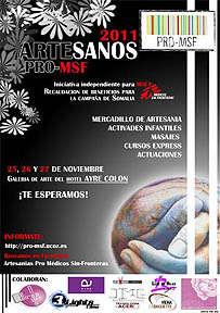 Artesanos pro Médicos sin Fronteras, semana solidaria.