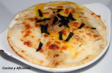 Canelones Rossini, receta
