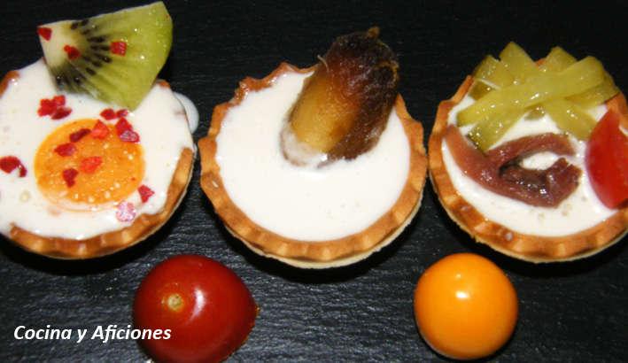 trio de tartaletas de anchoa 1