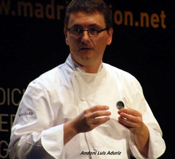 La naturaleza contemporánea de Andoni Luis Aduriz