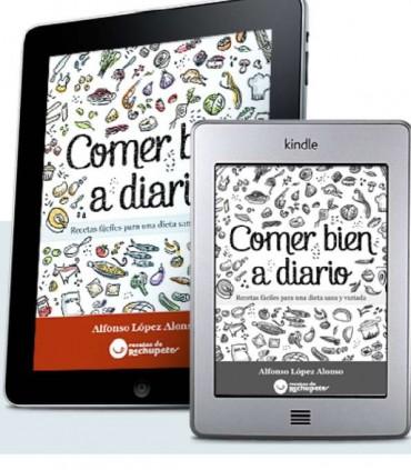 """Comer bien a diario, el libro de Alfonso López """"Recetas de Rechupete"""""""