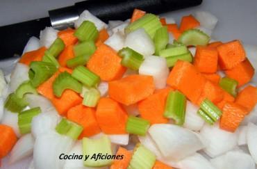 Técnicas de cocina: Hacer una  Mirepoix