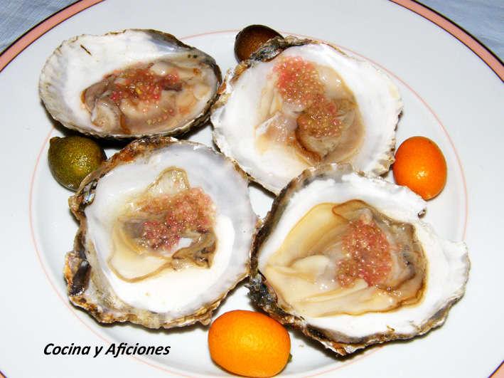 ostras con caviar citrico 1