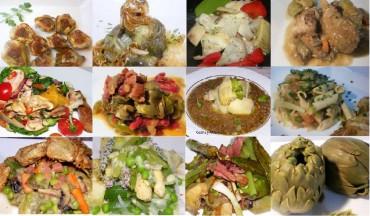 Doce recetas con alcachofas