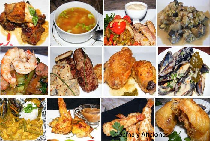 Doce recetas orientales cocina y aficiones - Comodas orientales ...