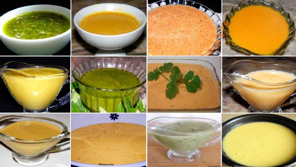 Doce salsas para acompañar todos tus platos