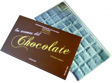Los aromas del chocolate,un libro bonito y práctico.