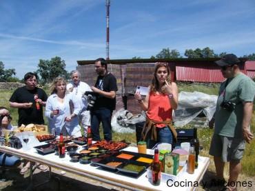 Barbacoa, quesos y vino, un tapas&blogs para el recuerdo