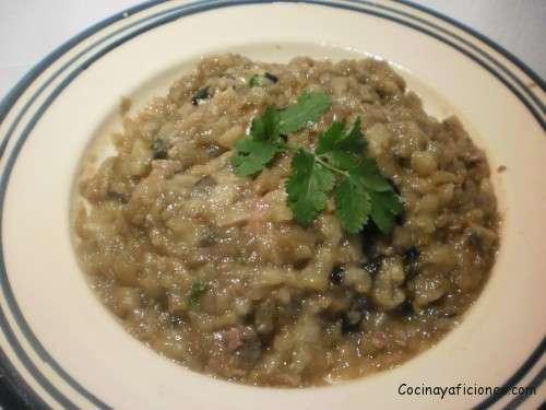 Mousse de caviar de berenjenas, receta