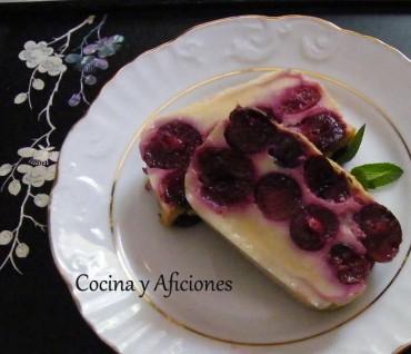 Clafoutis, tarta de cerezas receta paso a paso