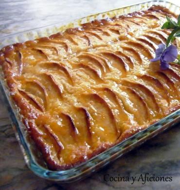 Tarta de manzana exprés, receta paso a paso