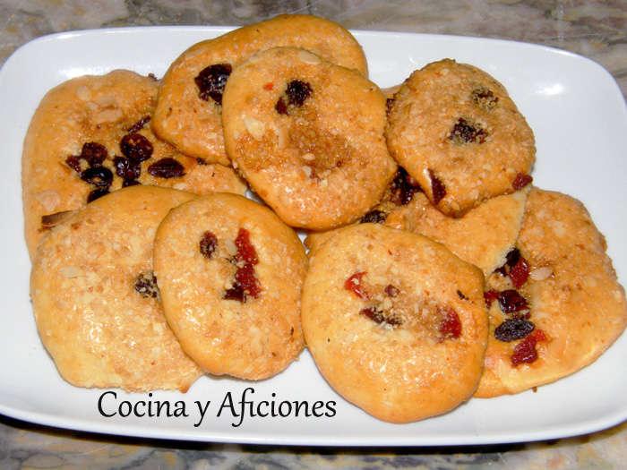 Galletas de coco y almendras 6