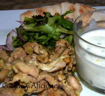 Kebab de cordero a nuestra manera, receta paso a paso