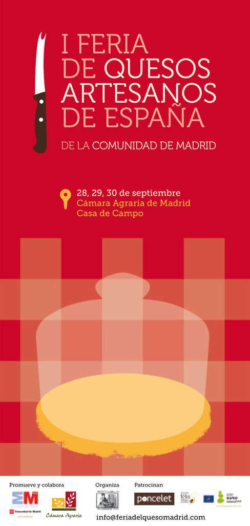 I Feria de Quesos Artesanos de España en la  Casa de Campo (Madrid)