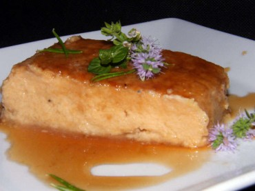 Flan de manzana de Carme Ruscalleda, receta paso a paso.