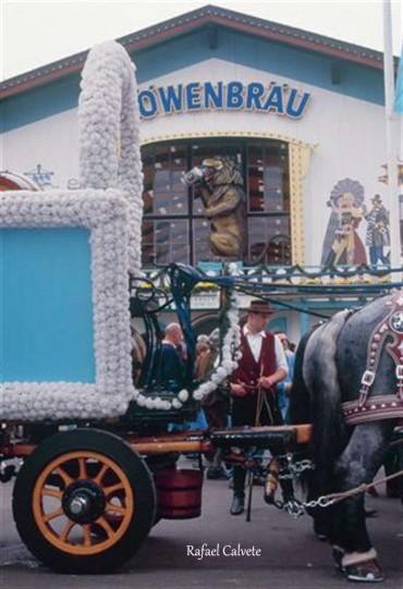 """""""Oktoberfest"""" de Munich, la gran fiesta mundial de la cerveza alemana, parte 1ª"""