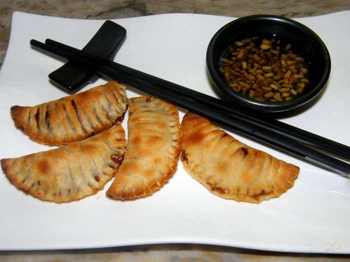Dim sum o empanadillas chinas clásicas receta paso a paso para el #Diadelaempanadilla