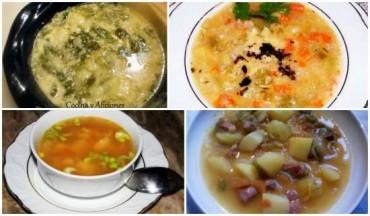 Doce recetas de cuchara
