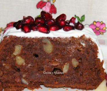 """Brownie picante: chocolate, pera y """"chile de árbol"""", receta paso a paso."""