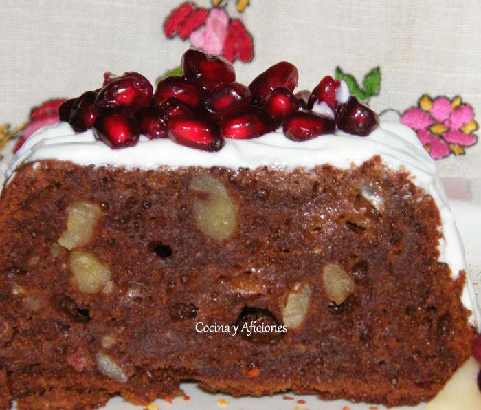 Brownie picante: chocolate, pera y «chile de árbol», receta paso a paso.
