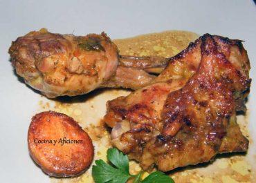 Pollo  picante al horno , receta paso a paso