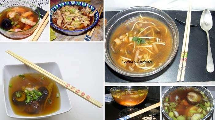 Técnicas de cocina: caldo dashi, receta paso a paso.