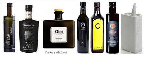 aceite 7 botellas