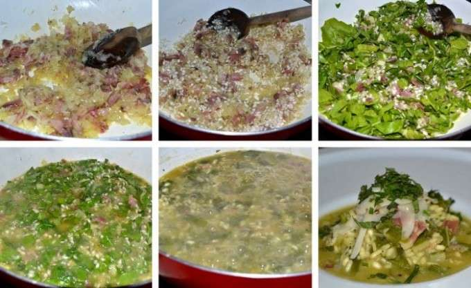 COLLAGE ARROZ Y ACELGAS