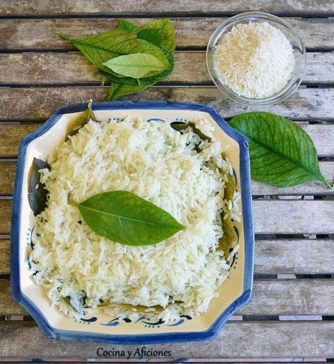 arroz hojas limonero 3