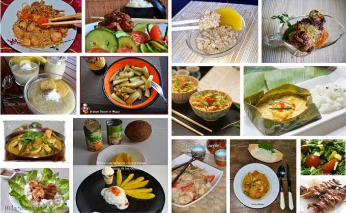 collage curry camboya  recetas