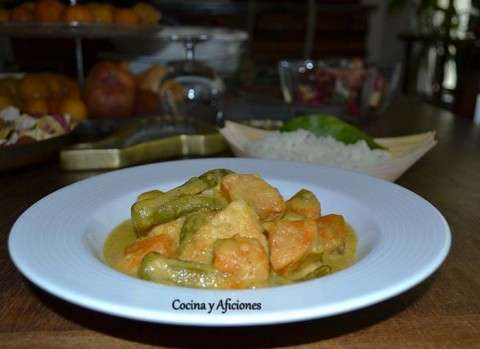 curry camboyano de pollo 1