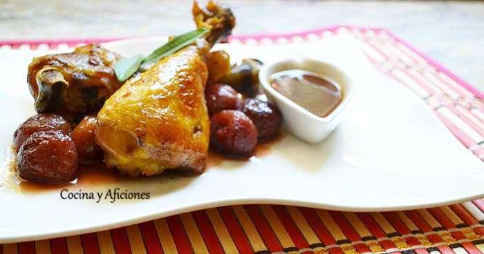 pollo con cerezas 6